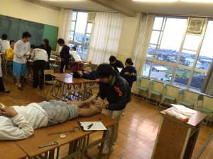 久米田メディカルチェック写真