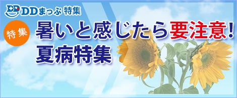 DDまっぷ特集 - 夏病特集2017トップページ
